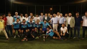 15 Temmuz Futbol Turnuvasının Finali Yapıldı