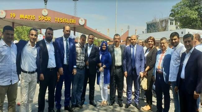 AK Parti Kongresine Şanlıurfa'dan Yoğun Katılım
