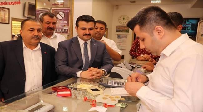 AK Parti Şanlıurfa İl Başkanı Altınlarını Bozdurdu-Videolu Haber