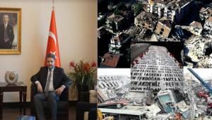 Büyükelçi Önen Büyük Felaketi Unutmadı