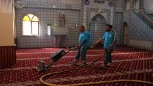 Camiler Bayram Namazına Hazırlanıyor-Videolu Haber