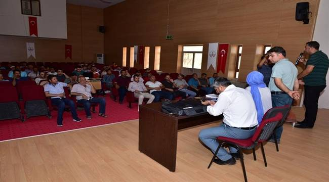 Ceylanpınar Belediyesi Personeline İş Sağlığı ve Güvenliğini Anlattı