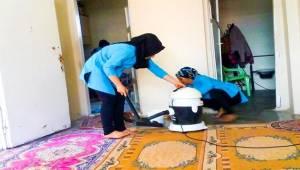 Ceylanpınar'da Evlere Hizmet Götürüyorlar