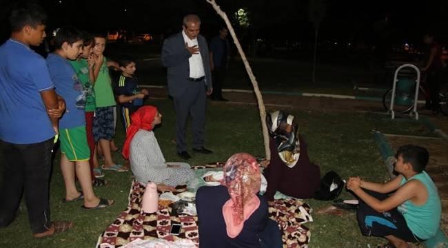 Demirkol'dan Vatandaşlara Gece Ziyareti