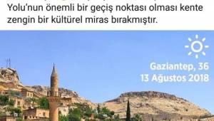 Gaziantep'in Reklamı Halfeti'nin Resmi ile Yapıldı