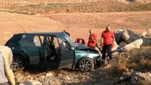 Halfeti-Birecik Yolunda Kaza, 5 Yaralı