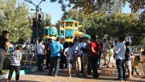 Haliliye'de Parklarda Güvenlik Artıyor