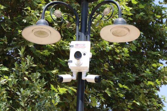 Haliliye'deki parklara güvenlik kamerası