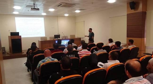 Harran Tıp'ta Güvenlik Görevlilerine Eğitim