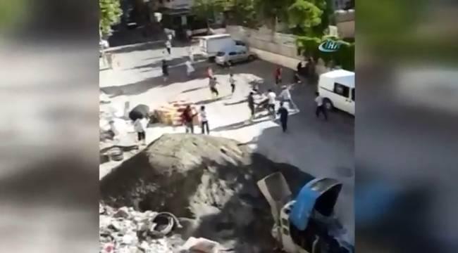 İşçiler ile Esnaf Arasında Ölümüne Kavga-Videolu Haber