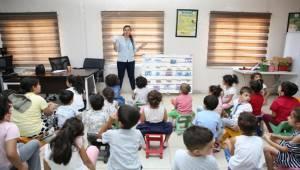 Karaköprü'de Çocuklara Hijyen Eğitimi