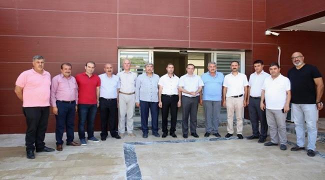 Kaymakam Yıldız'dan Karaköprü Belediyespor'a Ziyaret