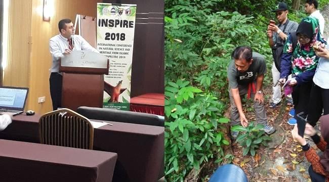 Kuran'da Adı Geçen Bitkileri Malezya'da Anlattı
