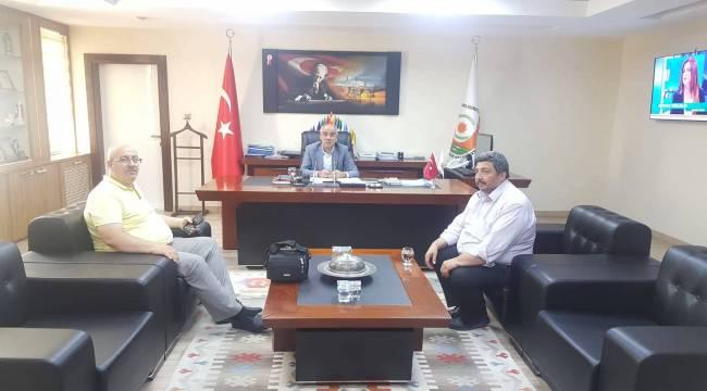 Milat Gazetesinden Açar'a ziyaret