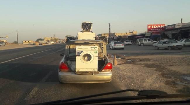 Otomobil Bagajında Beyaz Eşya Nakliyesi