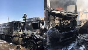 Park Halindeki Araçta Yangın 1 Yaralı