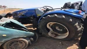 Suruç - Akçakale Yolunda Kaza, 1 Ölü 4 Yaralı
