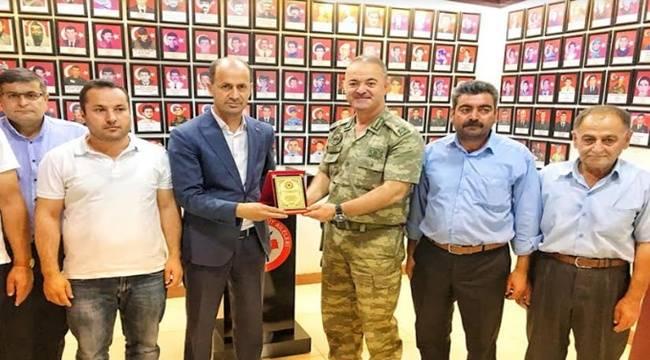 Tuğgeneral Köseali'den Yavuz'a Veda Ziyareti
