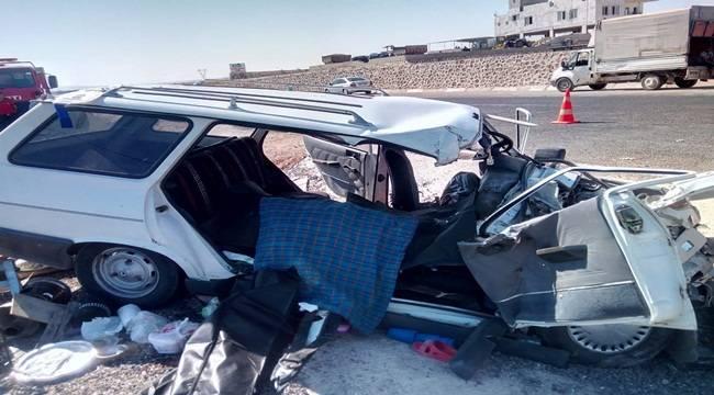 Urfa'da Piknik Yolunda Feci Kaza 3 Ölü, 4 Yaralı