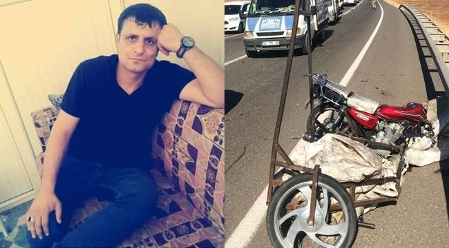 Urfa'da Trafik Kazası, 1 ölü, 2 yaralı