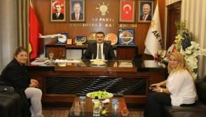 Vildan Polat AK Parti İl Başkanlığını Ziyaret Etti
