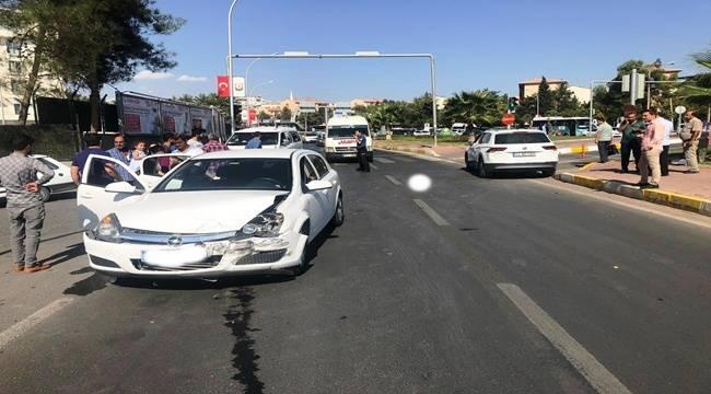 Abide Kavşağında Kaza 3 Yaralı