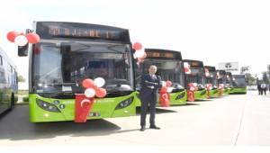 Adana'da Okulların Açıldığı İlk Gün Otobüsler Ücretsiz