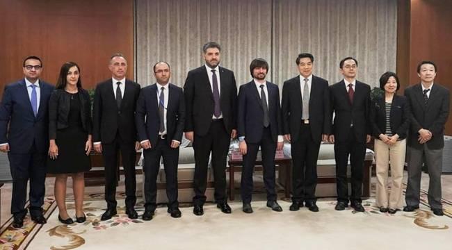 AFAD Başkanı Mehmet Güllüoğlu Pekin'de