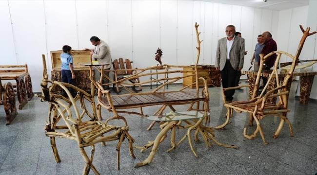 Ağaç ve Ahşap Sanat Sergisi Açıldı