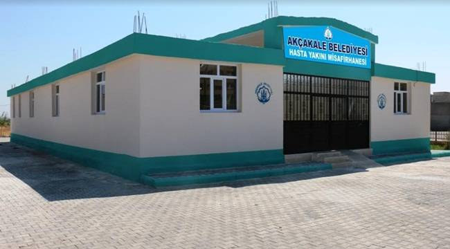 Akçakale'de Hasta Yakını Misafirhanesi Açılıyor