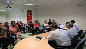 Antrenörlerle Genel Değerlendirme Toplantısı Yapıldı