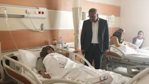 Bayık Hastaları Ziyaret Etti