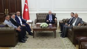 Bayık İçişleri Bakanı Soylu'yu Ziyaret Etti