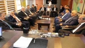 BBP Lideri Mustafa Destici Urfa'ya Geldi