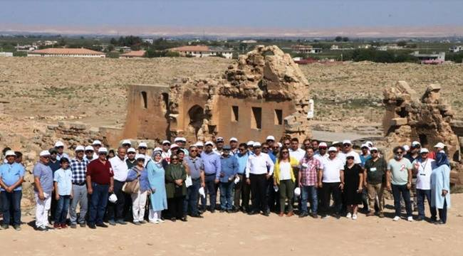Belediye Başkanları Harran'da