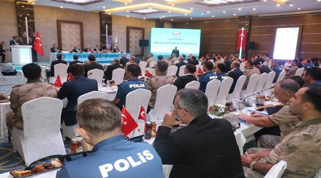 Bölge Güvenlik Toplantısına Yapıldı