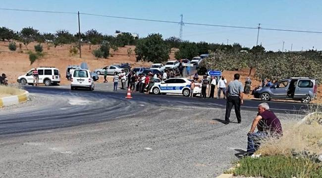 Bozova'da Kaza 1 Ölü 3 Yaralı