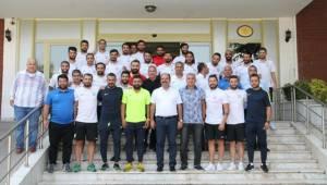 Büyükşehir Belediyesporlu Oyuncuları Ziyaret Etti