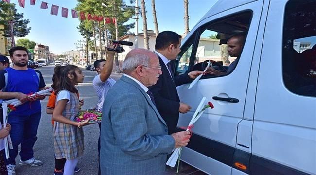 Ceylanpınar'da Daha Dikkatli Şoför Amca Etkinliği Yapıldı
