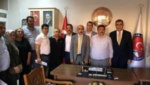 CHP Heyeti Urfa'daki Ekonomik Durumu Raporladı