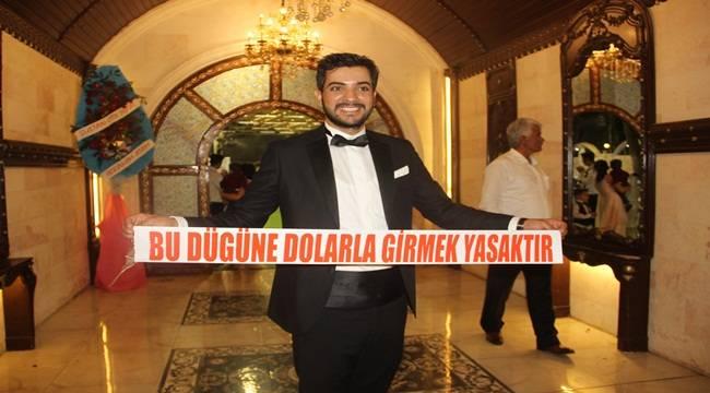 Düğünde Damattan Dolar Tepkisi