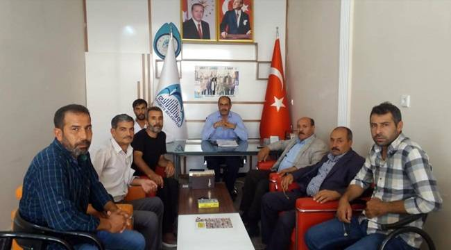 Eyyübiye'de Belediyenin İrtibat Ofisi Açıldı