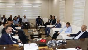Fırat'tan Başkan Baydilli'ye Ziyaret