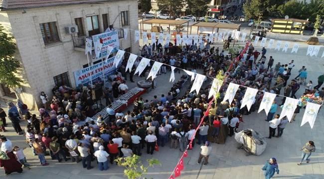 Haliliye'de 10 Bin Kişiye Aşure Dağıtıldı