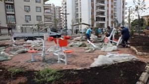Haliliye'deki Parklara Spor Alanları Yapılıyor