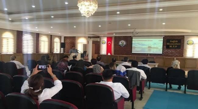 HRÜ'de Sağlık Turizmi Konferansı Yapıldı