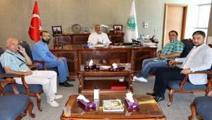 Mahmut Tuncer'den ŞUTSO'ya Ziyaret