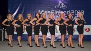 Miss Finland Güzellik Yarışması Finalistleri Tanıtıldı