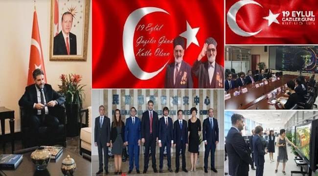 Pekin Büyükelçisi Önen'den Gaziler Günü Mesajı