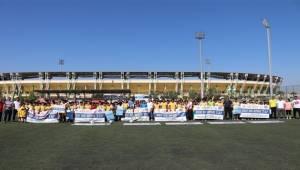 Sende Spor Yap Projesinin Kapanış Turnuvaları Yapıldı
